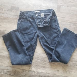 Levis jeans 515 dark wash med rise  boot cut 6S